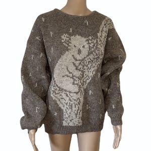 VINTAGE   Kaalaa woollen knit sweater